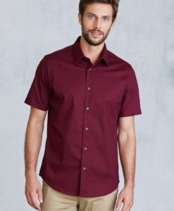 Stretch Langermet Skjorte fra Kariban for Kvinner - Printmax 4732920e37a59