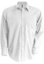 Strykefri Langermet Skjorte fra Kariban for Menn - Printmax 7aa3797811311